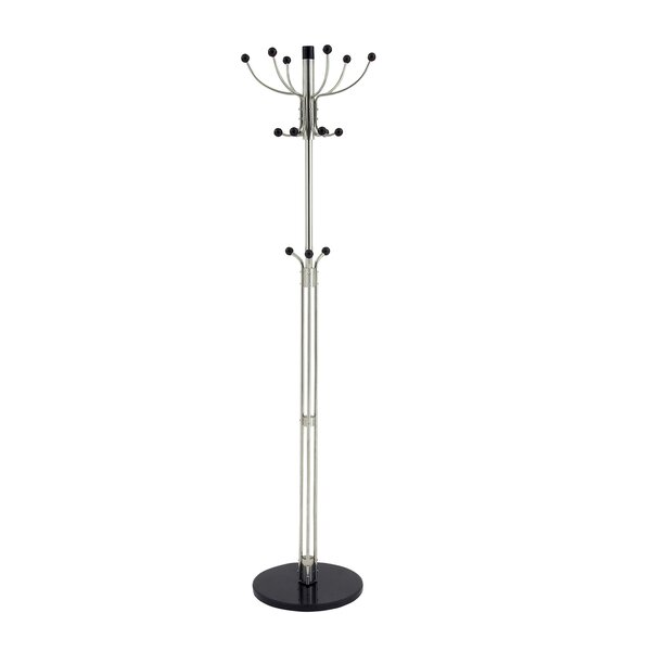 Urban Designs Stainless Steel Coat Rack by EC World Imports