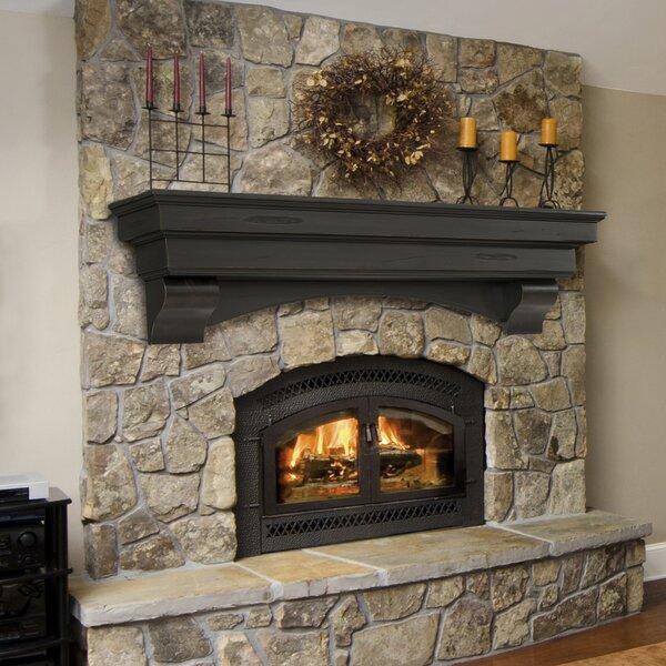 Celeste Fireplace Shelf Mantel By Pearl Mantels