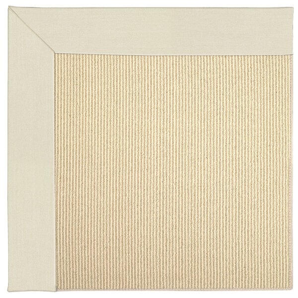 Lisle Machine Tufted Sandy/Beige Indoor/Outdoor Area Rug by Longshore Tides