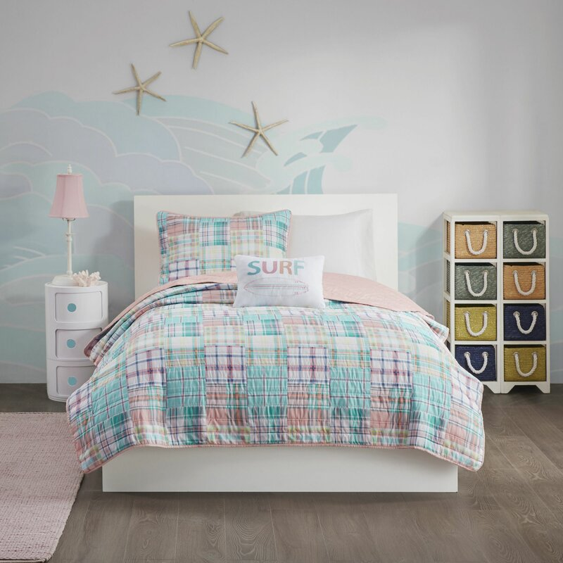 Carone Plaid Reversible Quilt Set by Harriet Bee