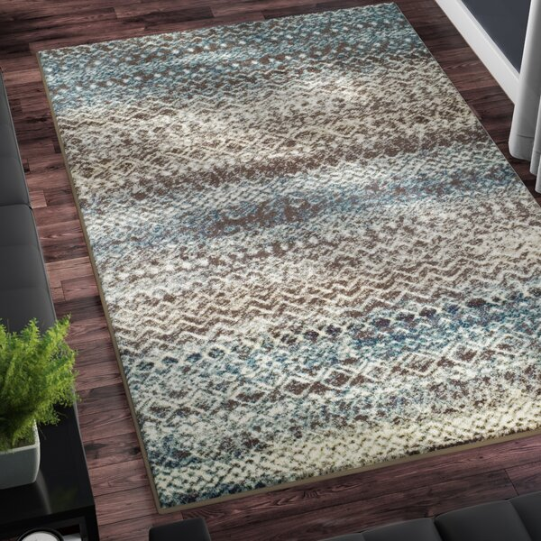 Hopkins Taupe/Ivory Area Rug by Zipcode Design