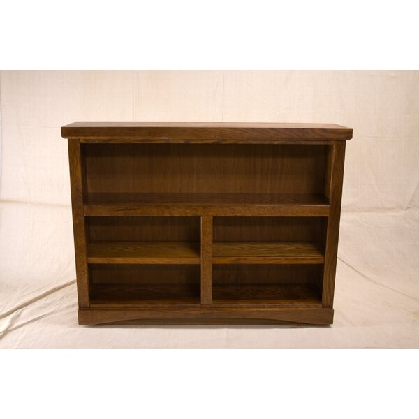 Cureton 2 Shelf Traditional Standard Bookcase by Darby Home Co