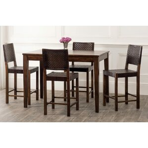 Panasonic Rustic Counter Height Dining Table by Bloomsbury Market
