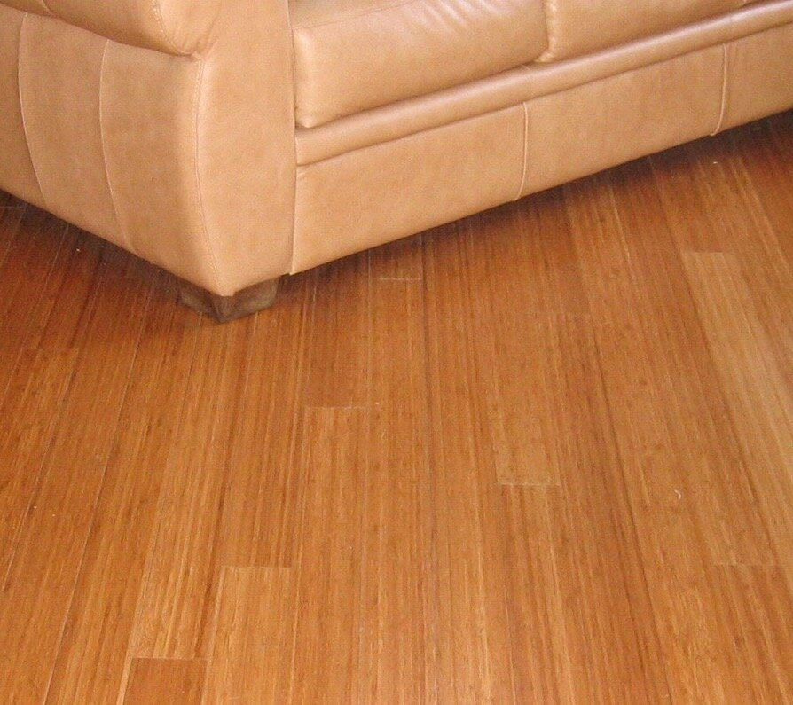 "3-3/4"" Solid Bamboo Flooring in Carbonized Matte"