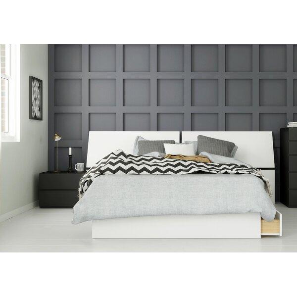 Lazaro Platform 3 Piece Bedroom Set by Ebern Designs