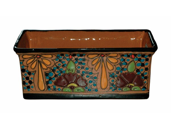 Mansfield Clay Planter Box by World Menagerie