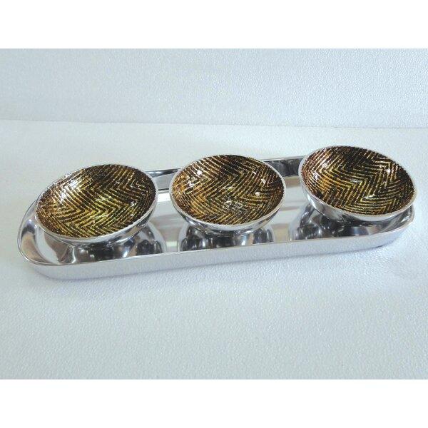 Decorative Bowl 4 Piece Set by Jodhpuri