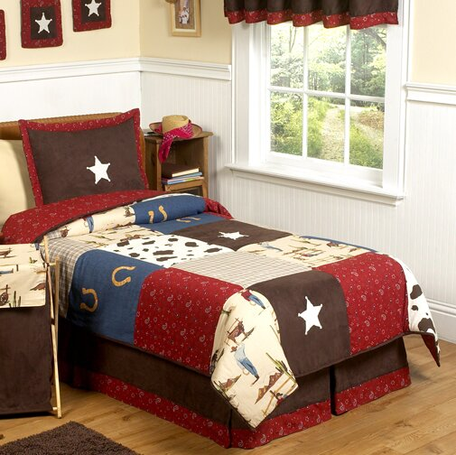 Wild West Cowboy 3 Piece Comforter Set by Sweet Jojo Designs