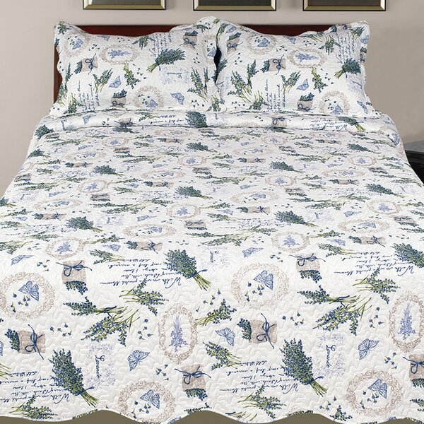 Jerkins Collection 3 Piece Reversible Quilt Set by Ophelia & Co.