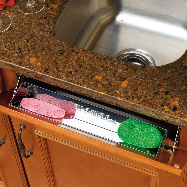 Stainless Sink Front Tray by Rev-A-Shelf