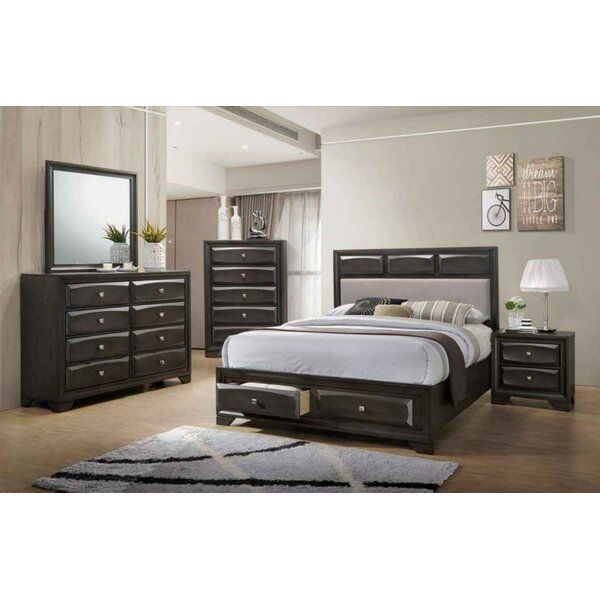 Raposo Platform Configurable Bedroom Set by Latitude Run