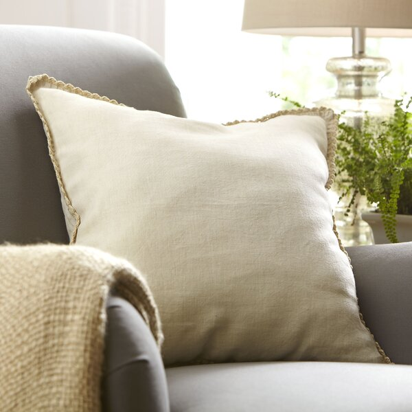 Armelle Linen Pillow Cover by Birch Lane™