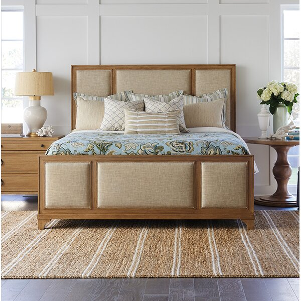 Newport Upholstered Standard Bed by Barclay Butera