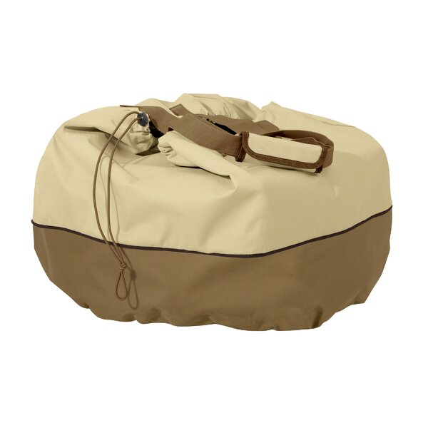 Croteau Table Top Grill Cover and Carry Bag by Red Barrel Studio