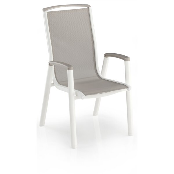 Cotner Stacking Patio Dining Chair by Rosecliff Heights