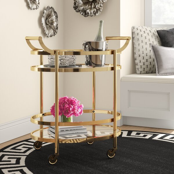 Miller Bar Cart by Mercer41 Mercer41