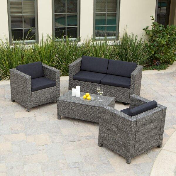 Puerta 4 Piece Sofa Set by Home Loft Concepts