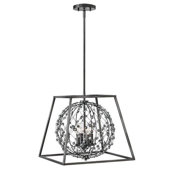 Artemis 4 - Light Lantern Geometric Chandelier by Hinkley Hinkley