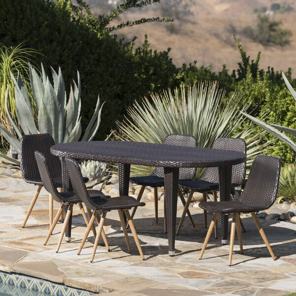 Ramm Outdoor 7 Piece Dining Set by Brayden Studio