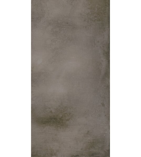 Metal Max 24 x 48 Porcelain Field Tile in Dark Gray by Madrid Ceramics