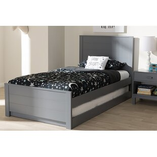 Reviews Harvill Twin Platform Bed with Trundle By Mack & Milo