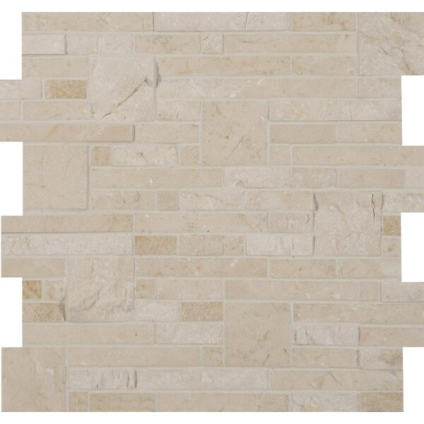 Marble Mosaic Tile in Beige by MSI