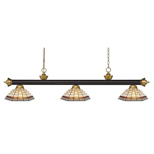 Billington 3-Light Pool Table Light by Fleur De Lis Living