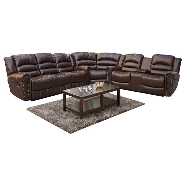 Reasor Symmetrical Symmetrical Reclining Sectional