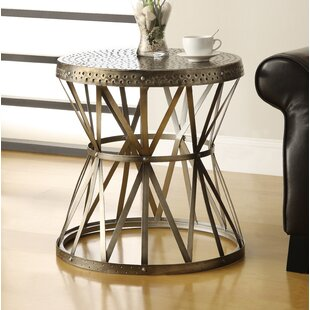 Bargain Hansley End Table by Williston Forge