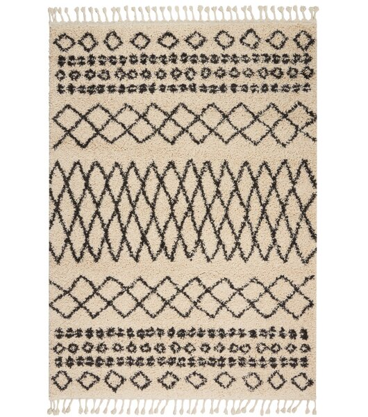 Jenny Cream Area Rug by Mistana