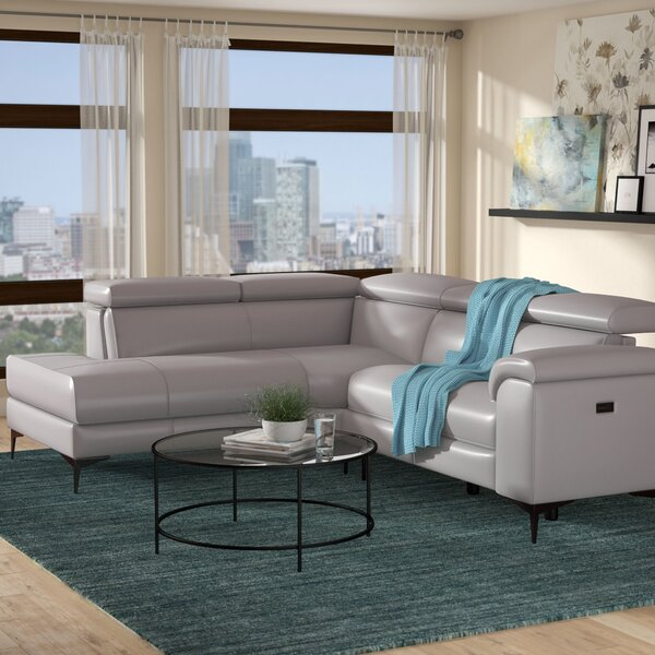 Bryd Right Hand Facing Reclining Sectional by Orren Ellis