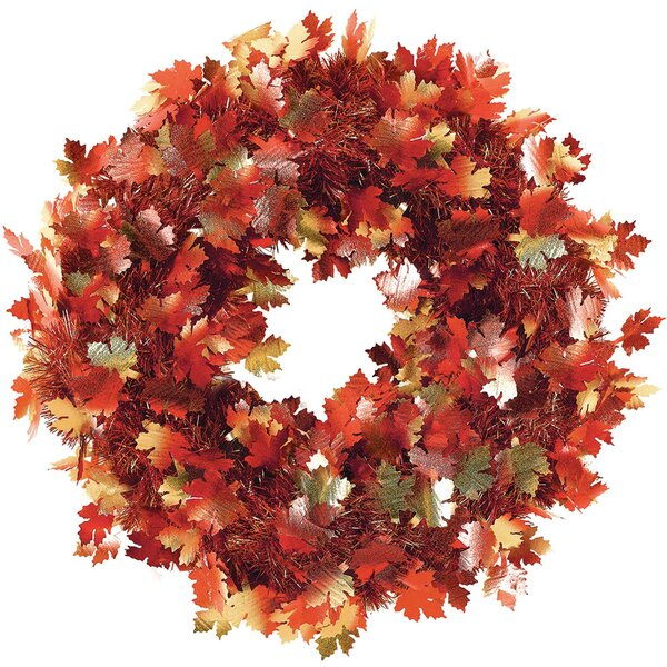 Autumn 18 Foliage Wreath by Amscan