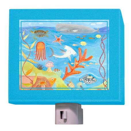 Ocean World Night Light by Oopsy Daisy