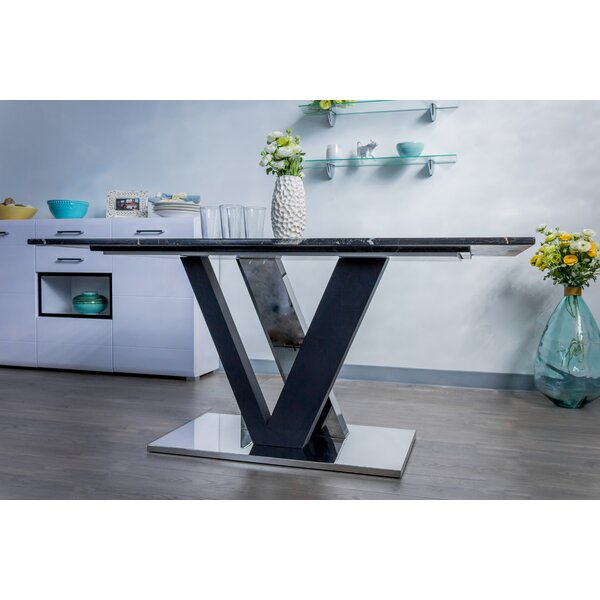 Atisha Marble Dining Table by Brayden Studio Brayden Studio
