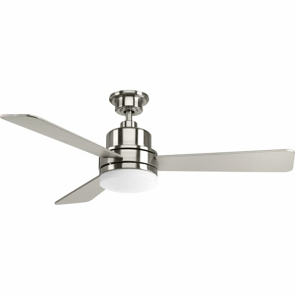 52 Rathburn 3 Blade LED Ceiling Fan by Red Barrel Studio