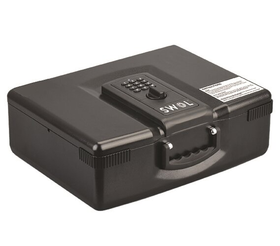 SWOL Portable Safe Box with Electronic Lock by Byourbed