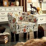 Super Salmon Colored Accent Chair Wayfair Short Links Chair Design For Home Short Linksinfo