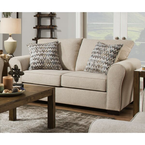 Derry Loveseat by Simmons Upholstery by Alcott Hill