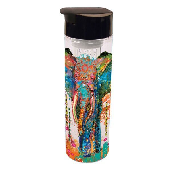 Damiane Utopia Infuser Acrylic 20 oz. Insulated Tumbler by Bloomsbury Market