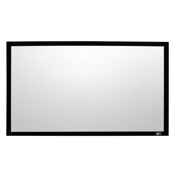 Sable Frame 2 White Fixed Frame Projection Screen by Elite Screens