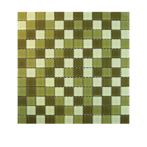 Glass Mosaic Tile in Green by QDI Surfaces