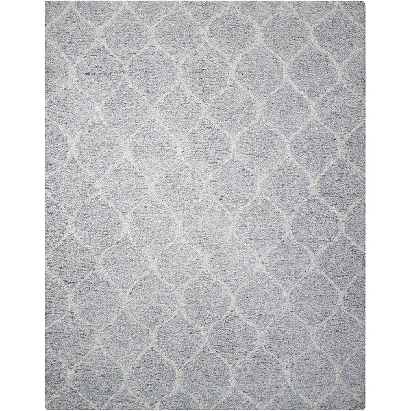 North Moore Hand-Tufted Light Grey Area Rug by Brayden Studio