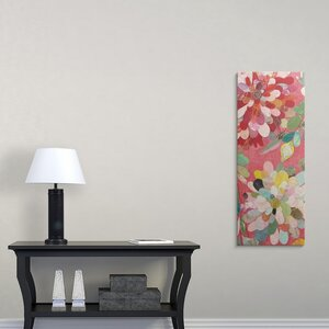 Red and Pink Dahlia IV by Candra Boggs Graphic Art on Wrapped Canvas by Great Big Canvas