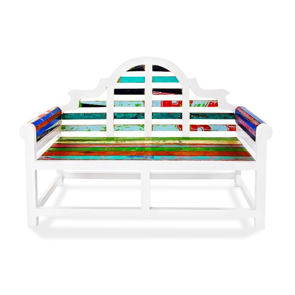 Atlantis Teak Garden Bench by EcoChic Lifestyles