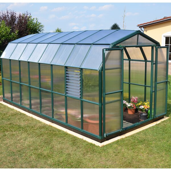 Prestige 2 Twin Wall 8 Ft. W x 20 Ft. D Greenhouse by Rion Greenhouses