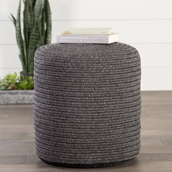 Espada Corinth Outdoor Ottoman With Cushion By Bungalow Rose by Bungalow Rose 2020 Coupon