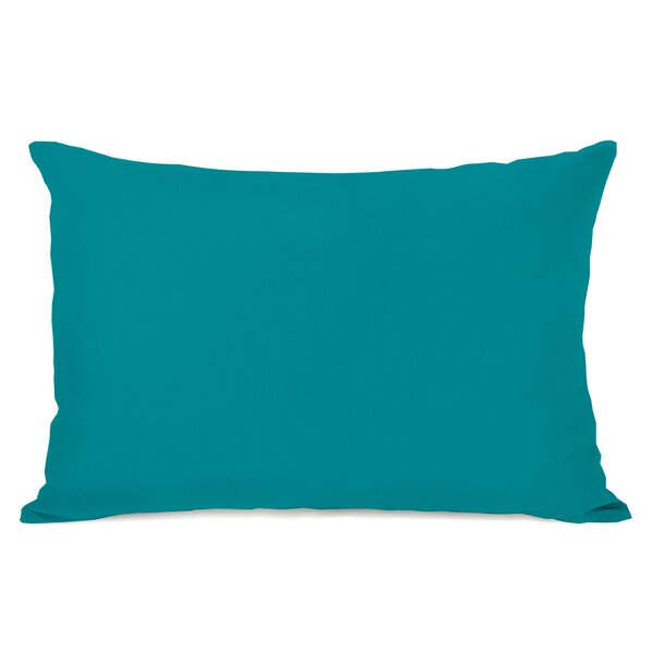 Duppstadt Solid Outdoor Lumbar Pillow by Ebern Designs