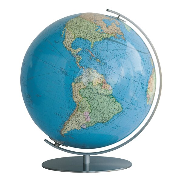 Lindau Illuminated Desktop Globe by Columbus Globe
