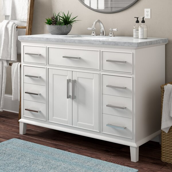 Caudill 48 Single Bathroom Vanity Set by Highland Dunes