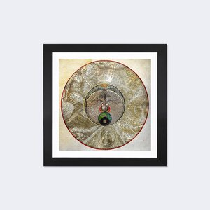 'Radial Alchemy' Square Framed Graphic Art by East Urban Home